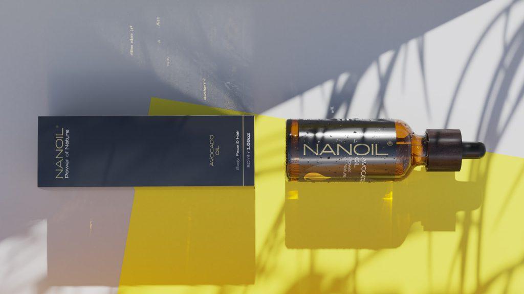 Avocadoöl von Nanoil für Haut und Haare